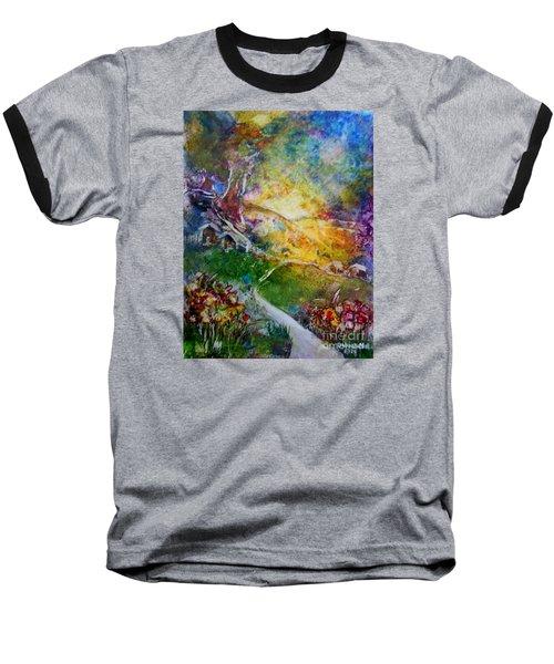 Bright Shiny Day Baseball T-Shirt