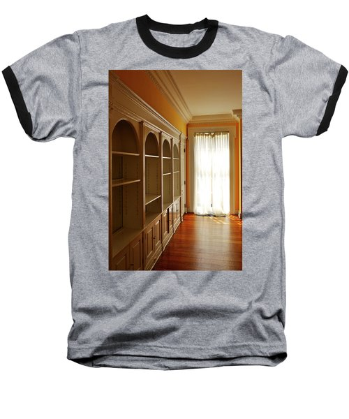 Bright Window Baseball T-Shirt by Zawhaus Photography