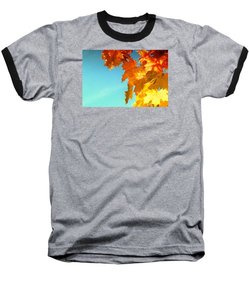 The Lord Of Autumnal Change Baseball T-Shirt by John Williams