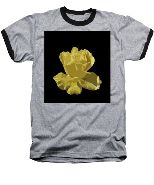 Baseball T-Shirt featuring the photograph Bright Yellow Beauty by Laurel Powell