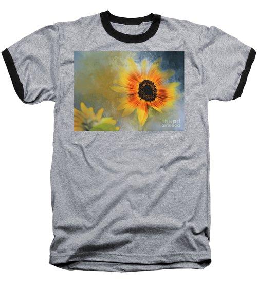Brighter Than Sunshine Baseball T-Shirt by Eva Lechner