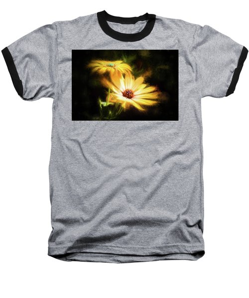 Brightest Sun Shining Baseball T-Shirt