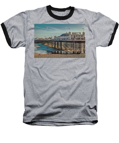 Brighton Pier Baseball T-Shirt