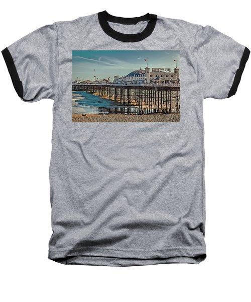 Brighton Pier Baseball T-Shirt