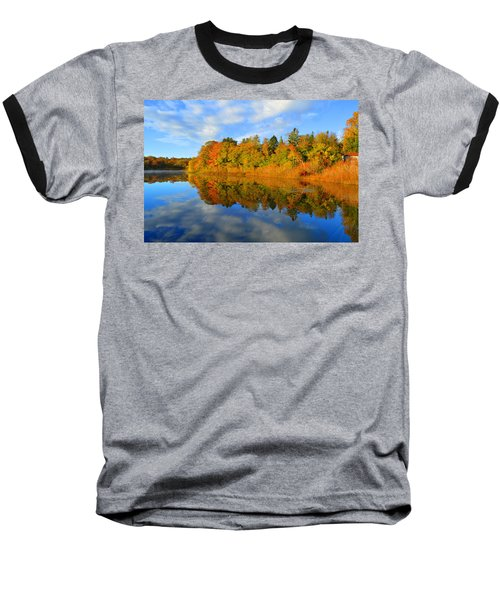 Brilliance Of Autumn Baseball T-Shirt