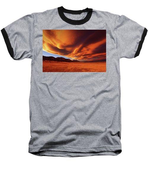 Brilliance Over Boulder Baseball T-Shirt