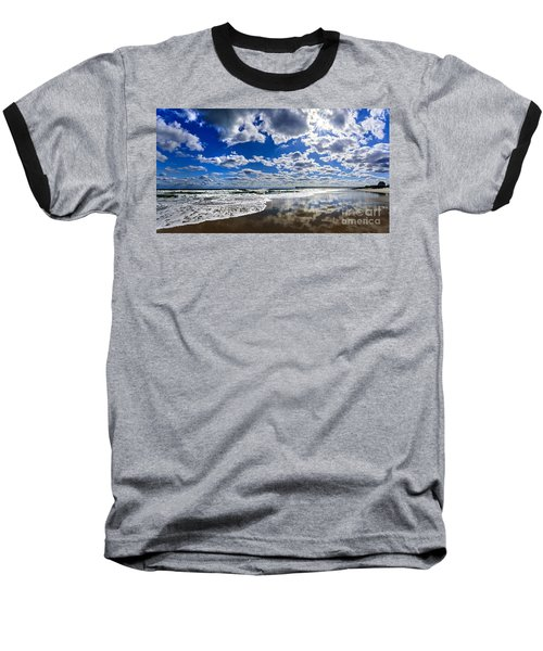 Brilliant Clouds Baseball T-Shirt
