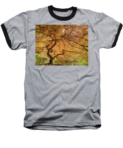 Brilliant Japanese Maple Baseball T-Shirt