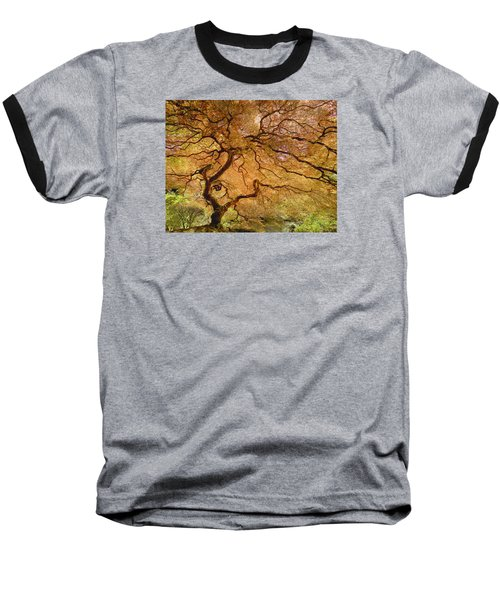 Brilliant Japanese Maple Baseball T-Shirt