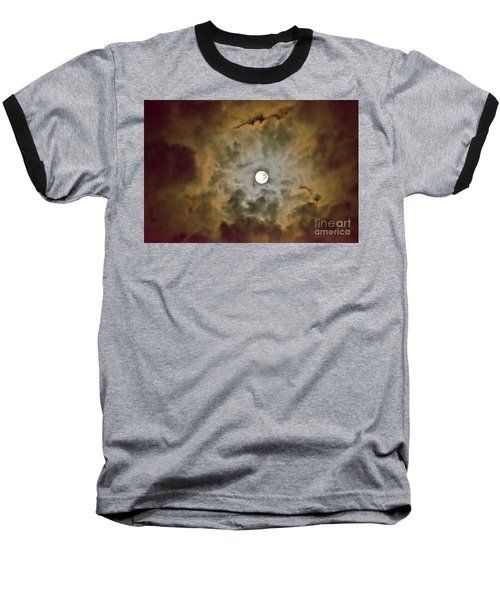 Brilliant Night Sky Baseball T-Shirt