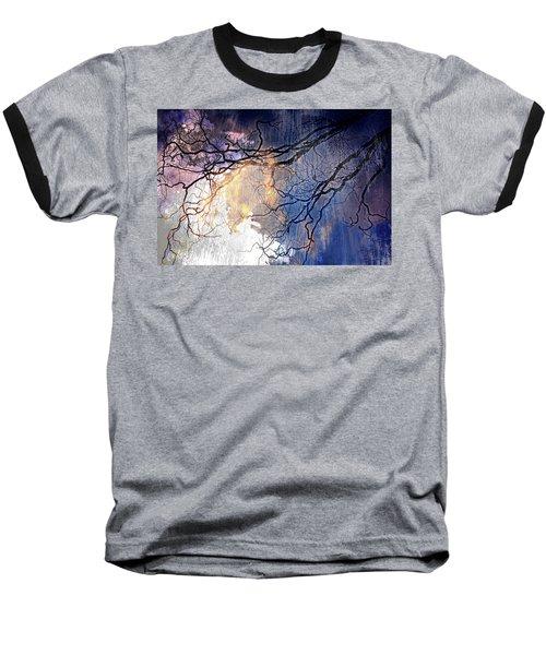 Brilliant Rain Baseball T-Shirt by Gray  Artus