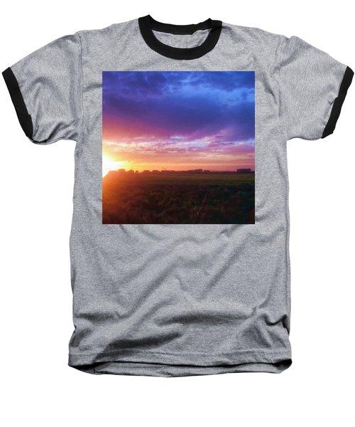 Brilliant Skies Baseball T-Shirt
