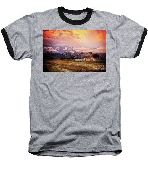 Brilliant Sunrise Baseball T-Shirt