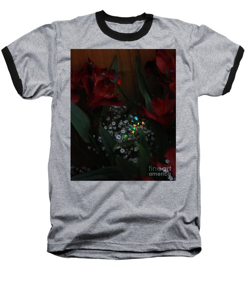 Baseball T-Shirt featuring the photograph Brilliantly Shy by Marie Neder