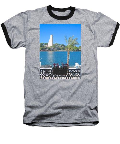 Brindisi By The Sea Baseball T-Shirt