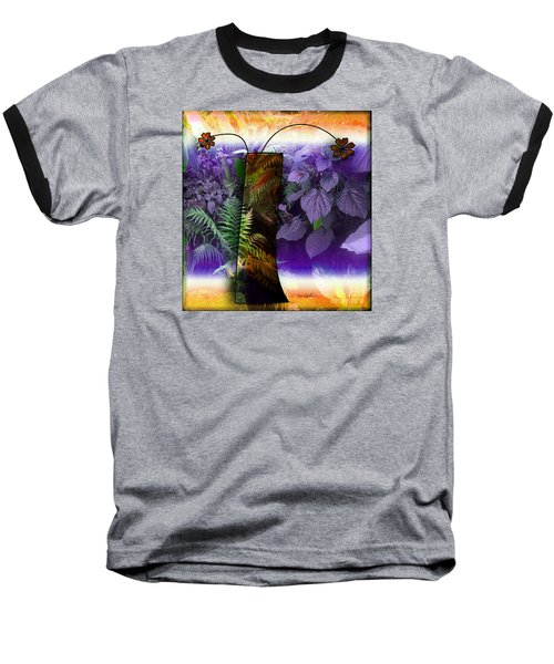 Bring Wonderland Home Baseball T-Shirt by Iris Gelbart