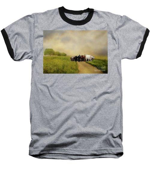 Bringing The Herd Home Baseball T-Shirt