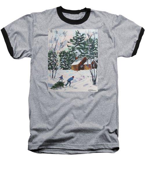 Bringing In The Tree Baseball T-Shirt