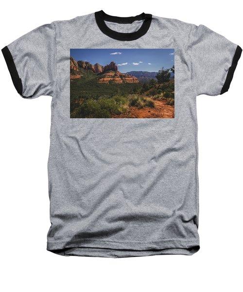 Brins Mesa Trail Vista Baseball T-Shirt