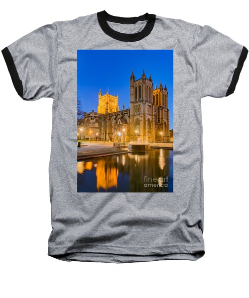 Bristol Cathedral Baseball T-Shirt