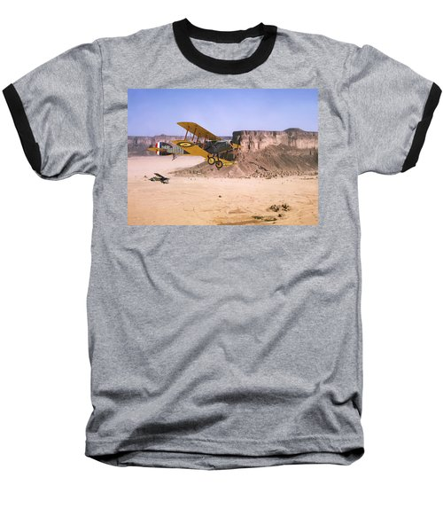 Baseball T-Shirt featuring the photograph Bristol Fighter - Aden Protectorate  by Pat Speirs