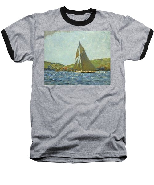 Baseball T-Shirt featuring the painting Britannia by Henry Scott Tuke