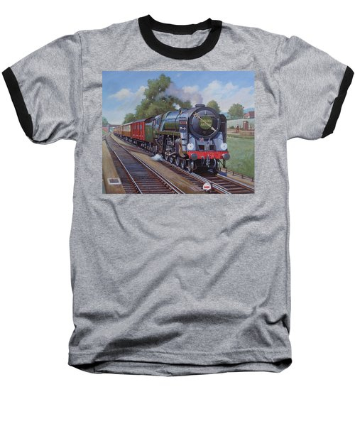 Britannia Pacific On The Golden Arrow. Baseball T-Shirt by Mike  Jeffries