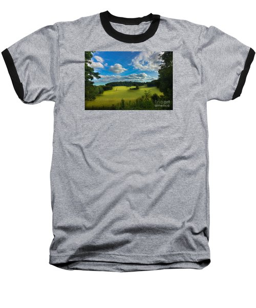 British Countryside Baseball T-Shirt