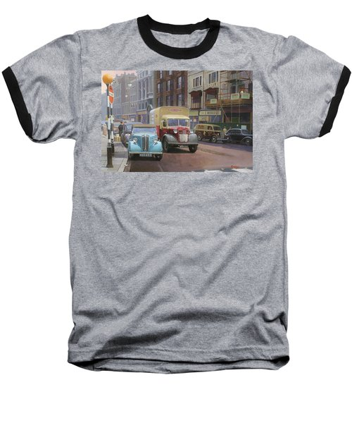 British Railways Austin K2 Baseball T-Shirt by Mike  Jeffries