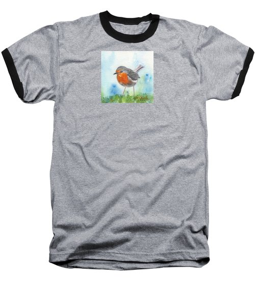British Robin Baseball T-Shirt