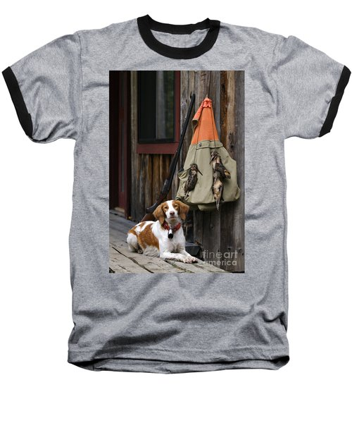 Brittany And Woodcock - D002308 Baseball T-Shirt