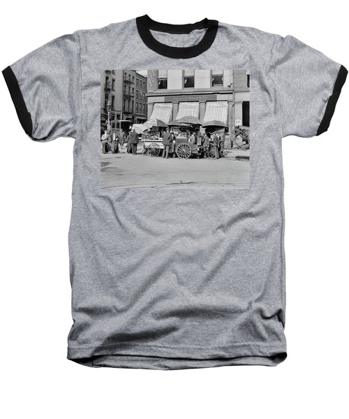 Broad St. Lunch Carts New York Baseball T-Shirt