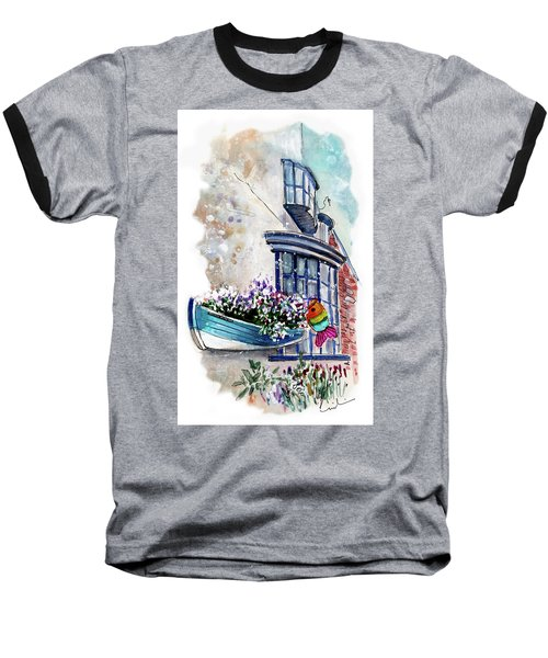 Broadies By The Sea In Staithes Baseball T-Shirt