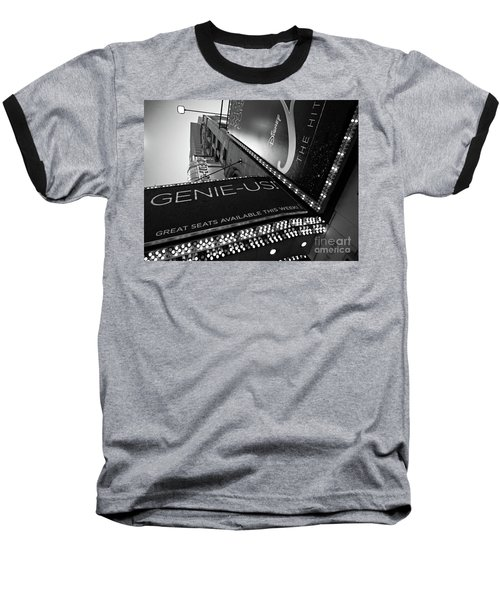 Broadway  -27868-bw Baseball T-Shirt by John Bald