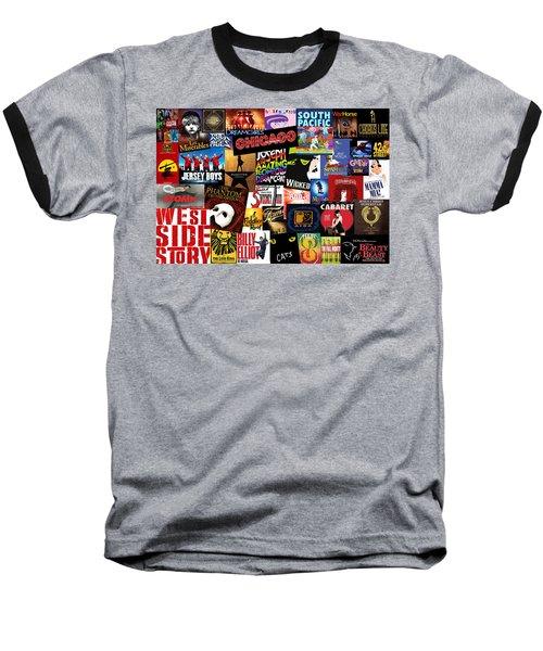 Broadway 3 Baseball T-Shirt