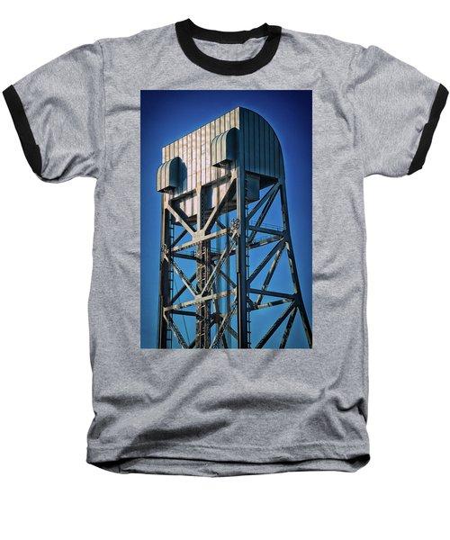 Broadway Bridge South Tower Detail 4 Chromatic Baseball T-Shirt