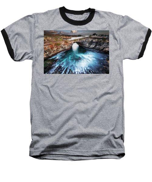 Broken Beach, Bali Baseball T-Shirt