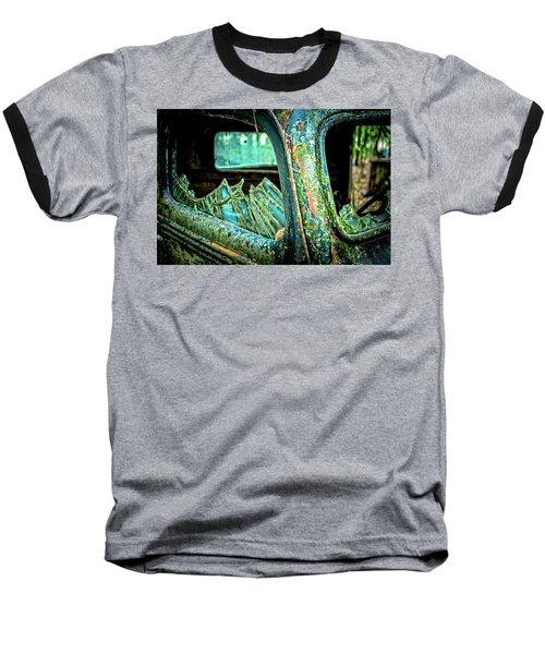 Broken Glass Baseball T-Shirt