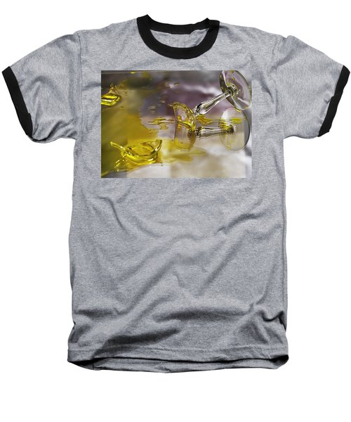 Baseball T-Shirt featuring the photograph Broken Glass by Susan Capuano