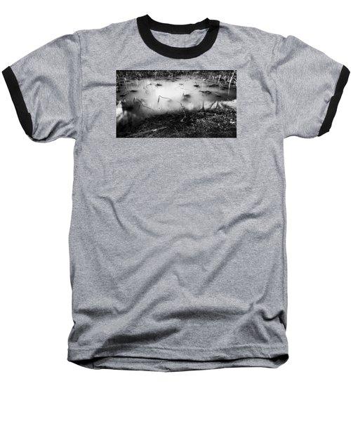 Baseball T-Shirt featuring the photograph Broken by Hayato Matsumoto
