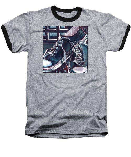 Broken-in Converse Baseball T-Shirt by Shawna Rowe