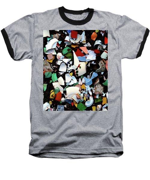 Broken Memories Baseball T-Shirt by Art Shimamura