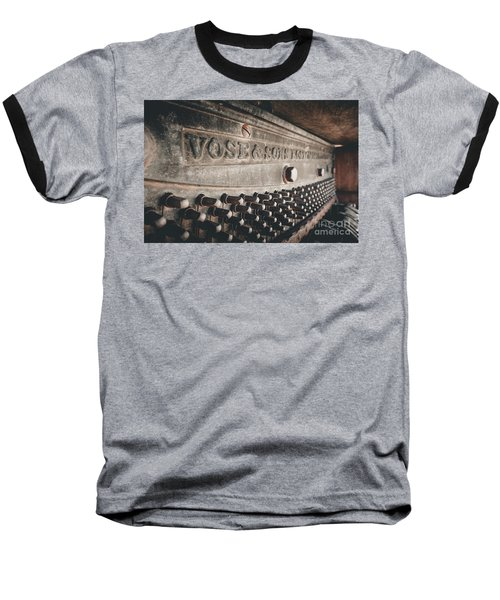 Broken Piano Baseball T-Shirt