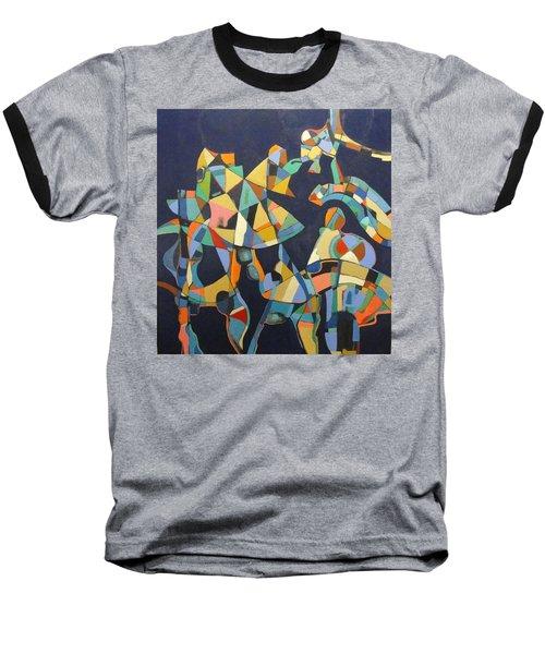 Baseball T-Shirt featuring the painting Broken Promises Last Forever by Bernard Goodman