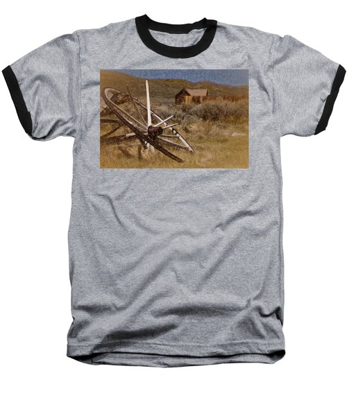 Baseball T-Shirt featuring the photograph Broken Spokes by Lana Trussell