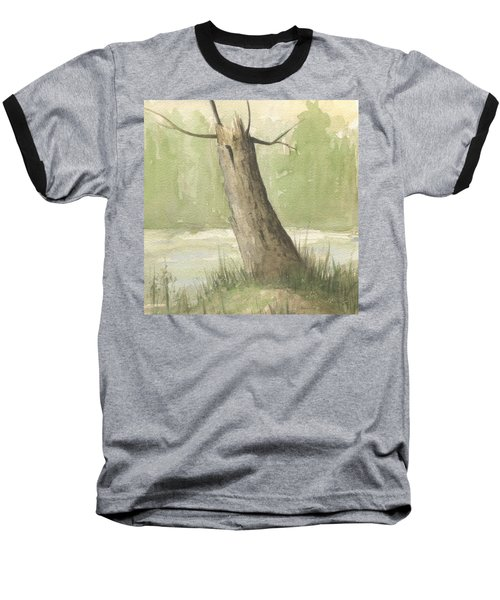 Broken Tree Baseball T-Shirt