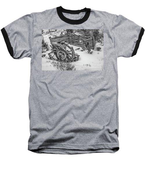Broken Water Wheel Baseball T-Shirt
