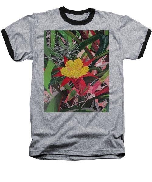 Bromelaid And Airplant Baseball T-Shirt