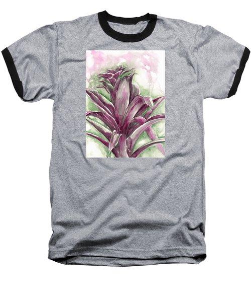 Bromeliad Baseball T-Shirt by Ashley Kujan