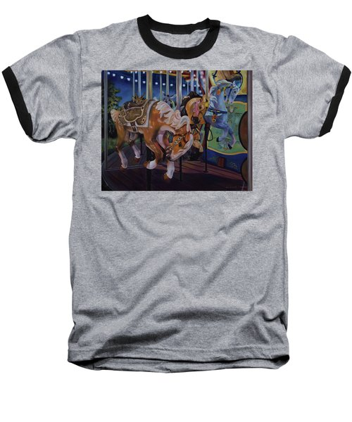 Bronc Busting 101 Baseball T-Shirt